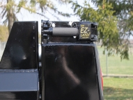 Rugby's patented and industry leading EZ-LATCH™ (located on each side of body) allows for easy body access. The latch system is designed for quick opening and slam lock operation with a cam action to draw-in upper tailgate pins.